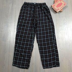 Croft & Barrow Plaid Flannel Lounge Pajama Pants